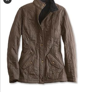 Women's Barbour quilted jacket size 4